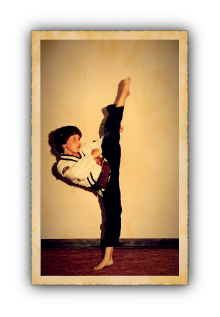 Sensei Jeff Melander - 11 years old.